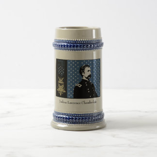 General Chamberlain and the Medal of Honor Beer Stein