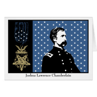 General Chamberlain and the Medal of Honor Card