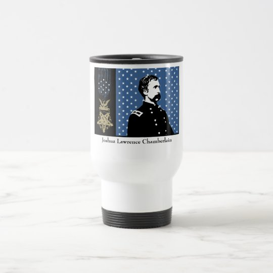 General Chamberlain and the Medal of Honor Travel Mug