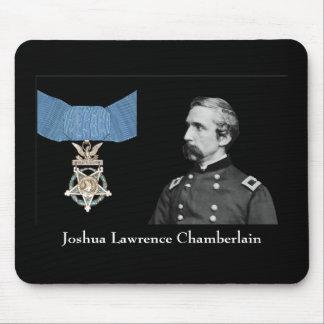 General Chamberlain y la medalla de honor Alfombrilla De Ratón