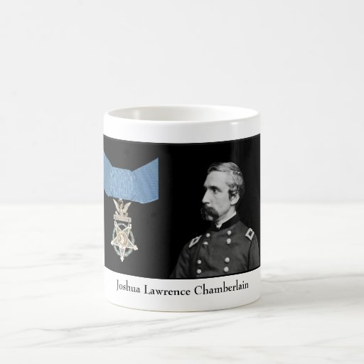 General Chamberlain y la medalla de honor Tazas De Café