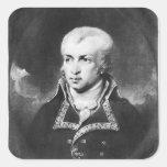 General Charles Pichegru Pegatina Cuadrada