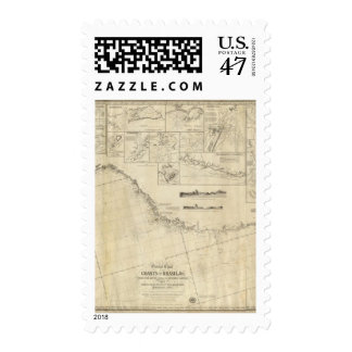 General chart of the coasts of Brasil Postage