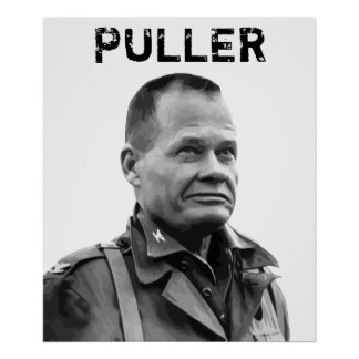 """General """"Chesty"""" Puller Poster"""