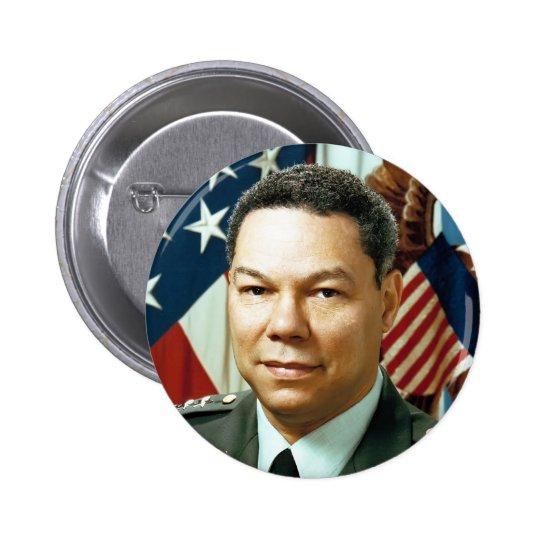 General Colin Powell Pinback Button