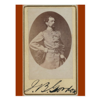 General confederado Juan B. Gordon de la guerra Postal