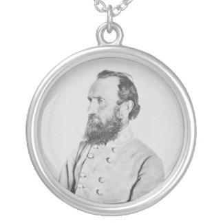 General confederado Thomas J Stonewall Jackson Colgante Redondo