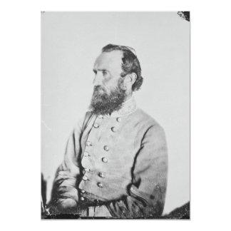 General confederado Thomas J Stonewall Jackson Anuncio