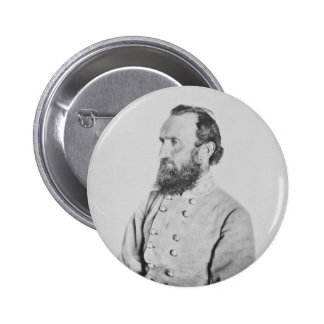 General confederado Thomas J Stonewall Jackson Pin Redondo 5 Cm