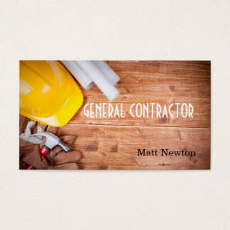 general contractor business cards templates zazzle