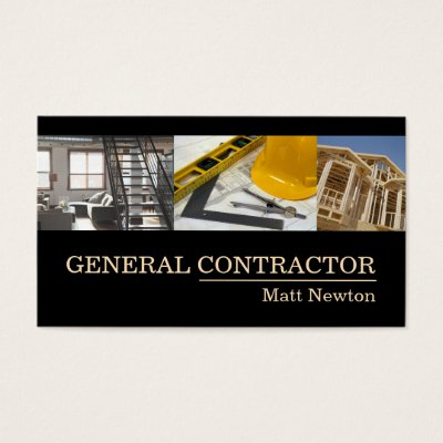 General contractor builder manager construction business card general contractor builder manager construction business card zazzle colourmoves Choice Image