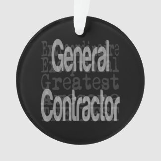 General Contractor Extraordinaire Ornament