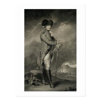 General Cornwallis (1738-1805) grabado por Juan Jo Postal