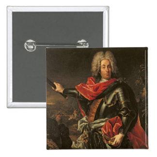 General Count Johann Matthias von der Schulenburg Pinback Button