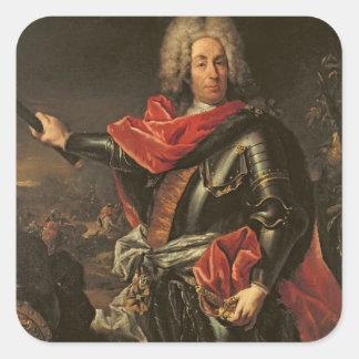 General Count Johann Matthias von der Schulenburg Square Sticker