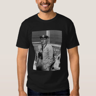 General Curtis Lemay and Quote - black Shirt