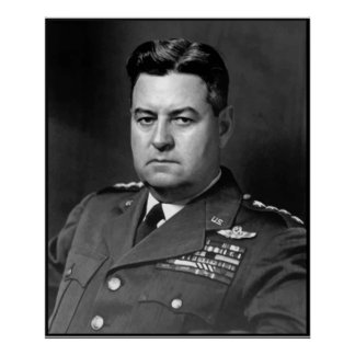 General Curtis Lemay de la fuerza aérea -- Fronter Poster