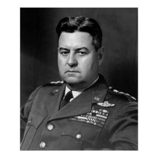 General Curtis Lemay de la fuerza aérea Póster