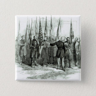 General Custer Button