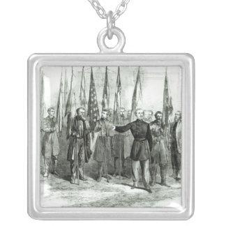 General Custer Collar Plateado