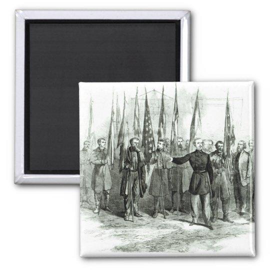 General Custer Magnet