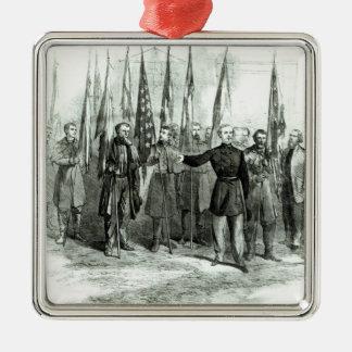 General Custer Metal Ornament