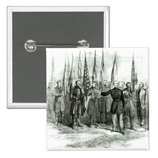 General Custer Pin Cuadrado