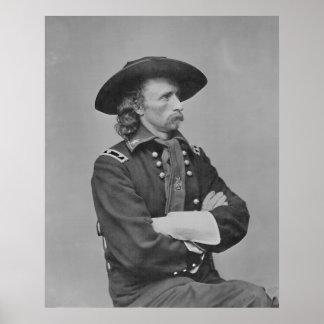 General Custer Póster