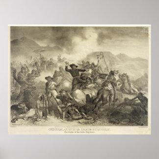 General Custer s Death Struggle 1878 Poster