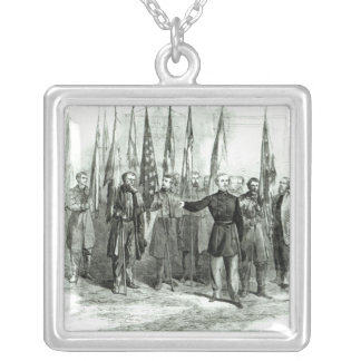 General Custer Silver Plated Necklace