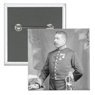 General de brigada sir Percy Molesworth Sykes Pin Cuadrado