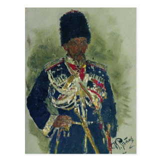 General de Ilya Repin- bajo la forma de guardias r Tarjetas Postales