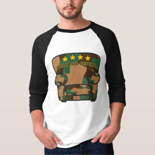 General de la butaca - camuflaje playeras