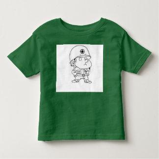 General de la camiseta del niño playera