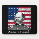 General de la guerra civil -- Ambrose Burnside Alfombrillas De Ratón