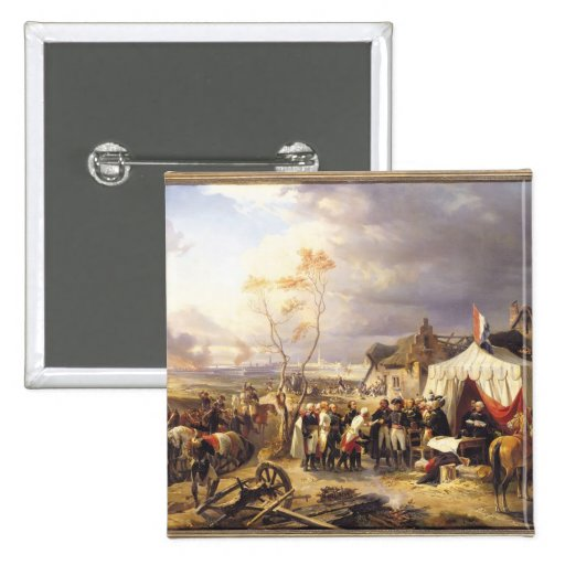 General De La Morliere Receiving la entrega Pins