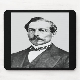 General de Pedro Toutant de Beauregard Confederate Tapete De Raton