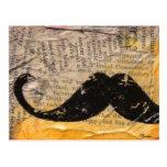 General Death - Handlebar Mustache Postcard