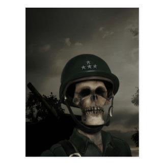 General Death Postcard