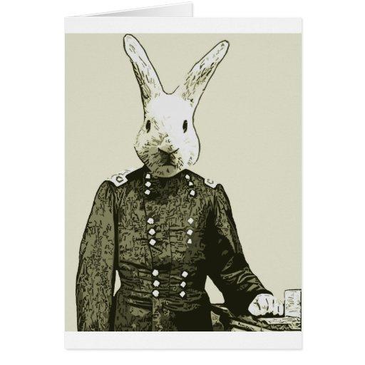 general del conejo felicitacion