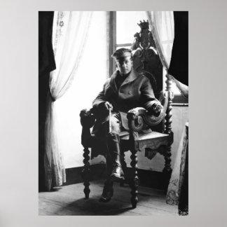 General Douglas MacArthur as a Young Man Poster