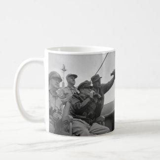 General Douglas MacArthur Shelling of Inchon Coffee Mug