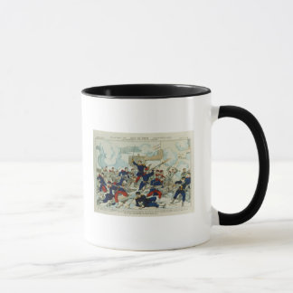 General Ducrot  at the Battle of Champigny Mug