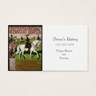 General Dufour Flour le Biscuit 1899 Business Card