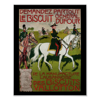 General Dufour Flour le Biscuit 1899 Posters