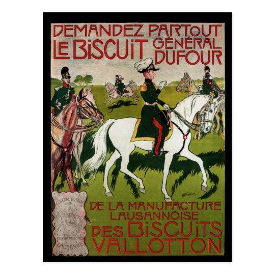 General Dufour Flour le Biscuit 1899 Postcard