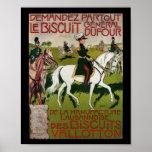 General Dufour Flour le Biscuit 1899 Print