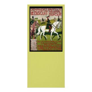 General Dufour Flour le Biscuit 1899 Rack Card