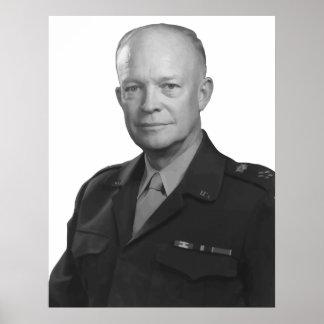 General Dwight D. Eisenhower Poster