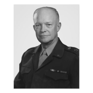 General Dwight D. Eisenhower Posters
